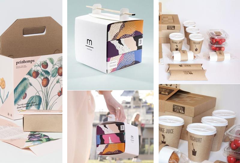 cajas para fiestas y picnic