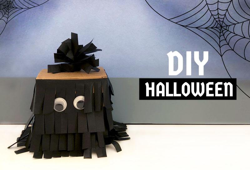 DIY halloween facil para niños